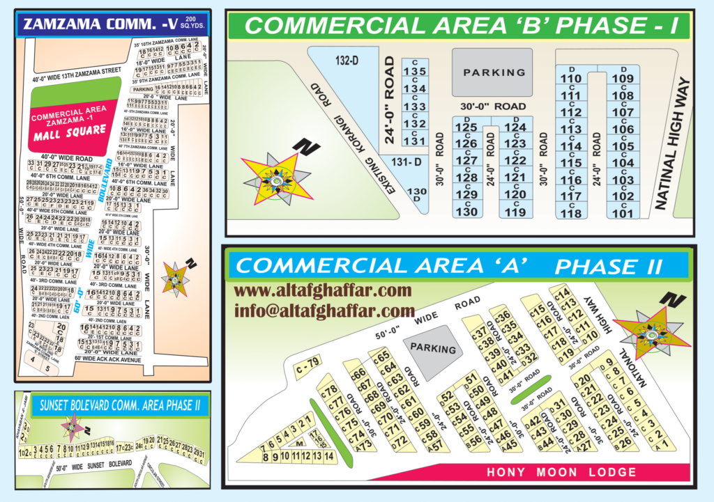 DHA Commercial Area